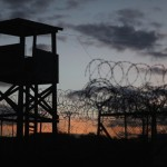 A watch tower is seen in the currently closed Camp X-Ray, which was the first detention facility to hold 'enemy combatants' at the U.S. Naval Station in Guantanamo Bay, Cuba  (Photo  Credit: Joe Raedle/Getty Images).
