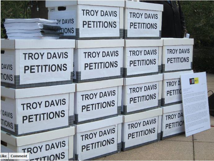 Amnesty International collected over 660,000 petition signatures in its efforts to stop the execution of Troy Davis (Photo Credit: Amnesty International).
