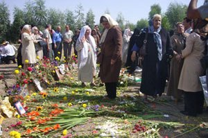 Khavaran Cemetery (Photo Credit: Iranian.com).