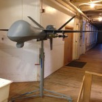 "Drone model used for Amnesty's ""Game of Drones"" tour (Photo Credit: Amnesty International USA)."