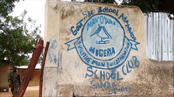 A school in the northeast Nigerian Yobe state where Boko Haram gunmen launched gun and explosives attacks on student hostels on July 6, 2013, killing 41 students and a teacher (Photo Credit: Aminu Abubakar/AFP/Getty Images).