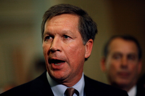 Ohio Governor John Kasich has granted a reprieve so that Ronald Phillips may donate his organs (Photo Credit: Chip Somodevilla/Getty Images).