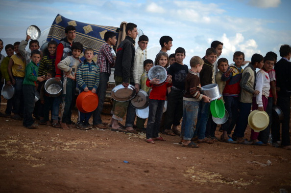 More than 2.5 million Syrians have fled their homes since the outbreak of the conflict in March 2011, with more than 600,000 crossing into neighboring countries (Photo Credit: Dimitar Dilkoff/AFP/Getty Images).