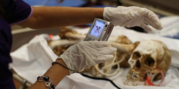The Pima County Office of the Medical Examiner works to identify the corpses of the hundreds of men and women who perish each year in the Arizona desert (Photo Credit: www.marcsilver.net).