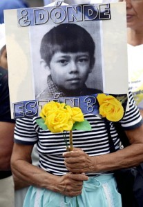 Since its inception in 1994, Pro-Búsqueda has successfully traced 384 missing children, of whom 235 were reunited with their birth families (Photo Credit: Yuri Cortez/AFP/Getty Images).