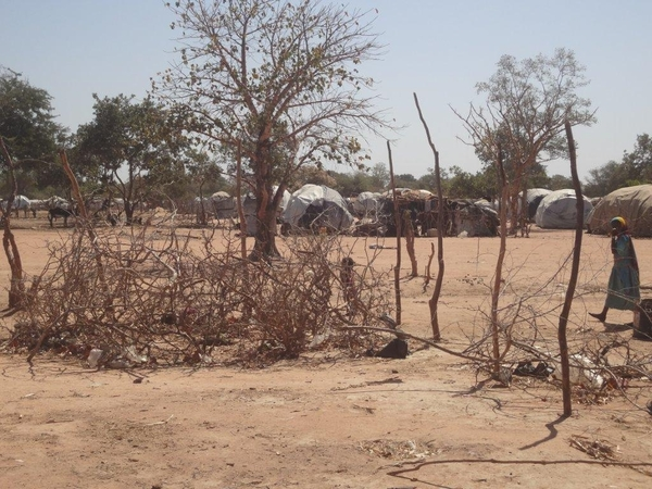 Most of the refugees in Abgadam came in April after a surge in fighting and grave human rights abuses in Central Darfur State - some of the worst violence in the region in years © Amnesty International.