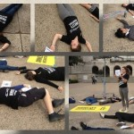Amnesty USA's Game of Drones action on the University of Texas- Austin campus.