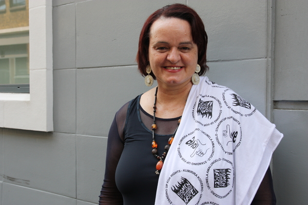 Jenni Williams has been arrested more than 50 times for her social and political activism. Urgent Actions from Amnesty International have helped to mobilize activists and secure Jenni's release (Photo Credit: Amnesty International).