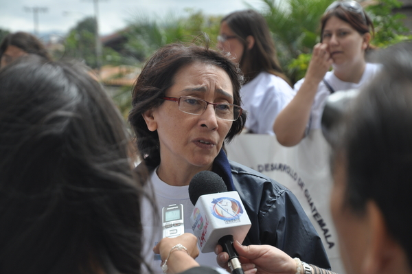 Norma Cruz has been struggling against gender-based violence in Guatemala for years at great personal risk to herself (Photo Credit: Amnesty International).