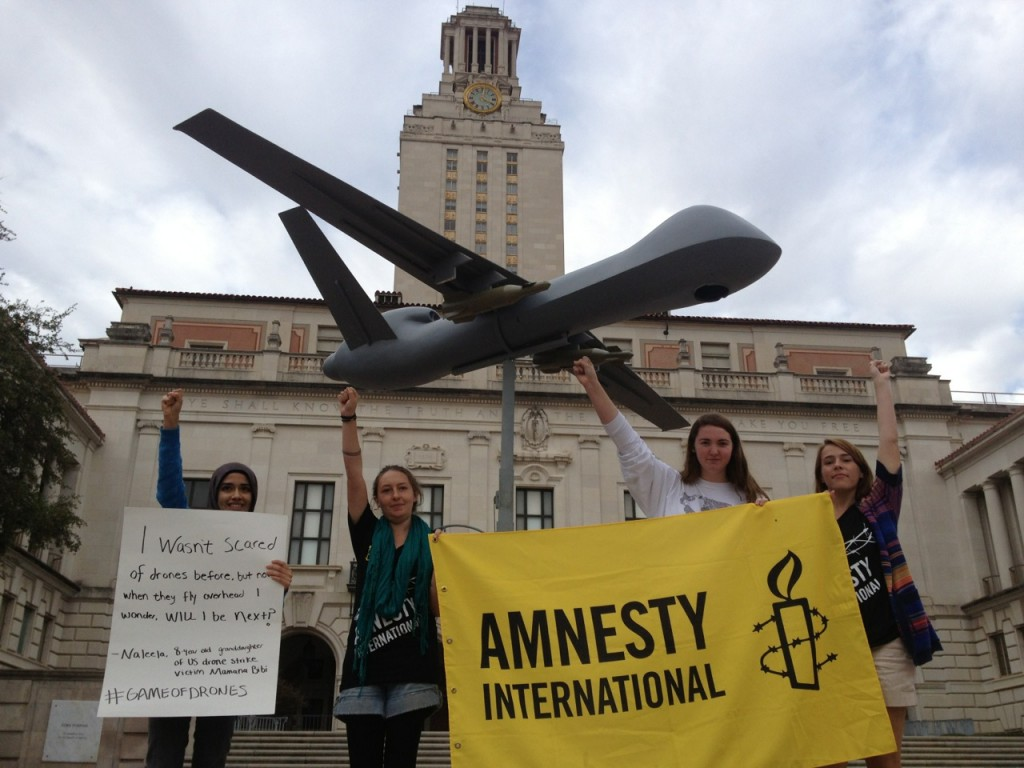 Game of Drones tour stop at the University of Texas - Austin.