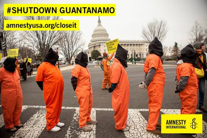 January 11, 2014 will mark the 12th anniversary of Guantanamo. On that day, Amnesty International will be protesting in front of the White House, calling for President Obama to speed up transfers and close the detention facility.