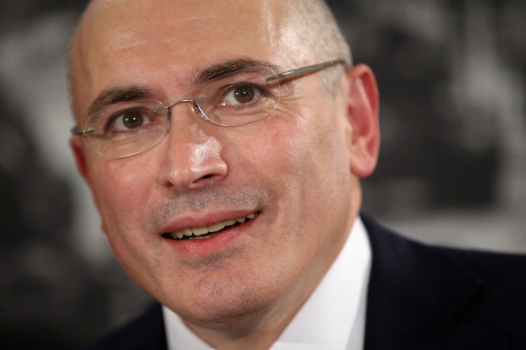 Mikhail Khodorkovsky was charged with embezzlement and tax evasion. He spent 10 years in prison until his unexpected pardon by Russian President Vladimir Putin (Photo Credit by Sean Gallup/Getty Images).