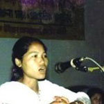 Kalpana Chakma (Photo Credit: Amnesty International).