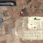 Zaatari refugee camp in Jordan, March 2013. Click to explore. Image © DigitalGlobe 2013 © Google Earth