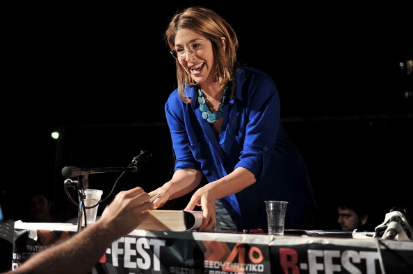 GREECE-SOCIAL-NAOMI KLEIN