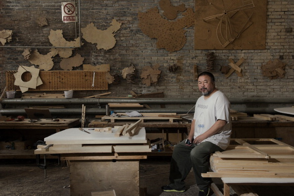 Chinese Dissident and Artist Ai Weiwei