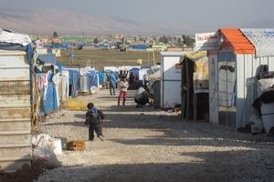 There is a real sense that Domiz refugee camp is now becoming established with its own economy © Amnesty International