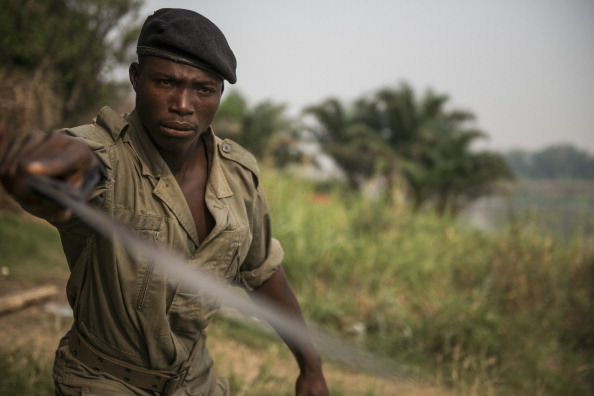 The Central African Republic has been torn by bloody sectarian clashes since Muslim rebels ousted president Francois Bozize in March 2013 and replaced him with their leader Michel Djotodia, who was himself forced out last month (Photo Credit: Fred Dufour/AFP/Getty Images).