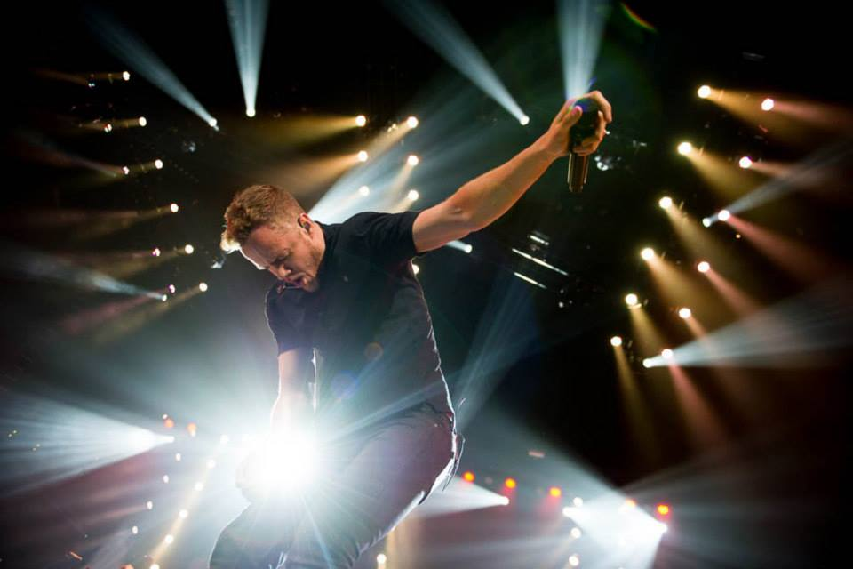 Imagine Dragons performs at the Bringing Human Rights Home Concert