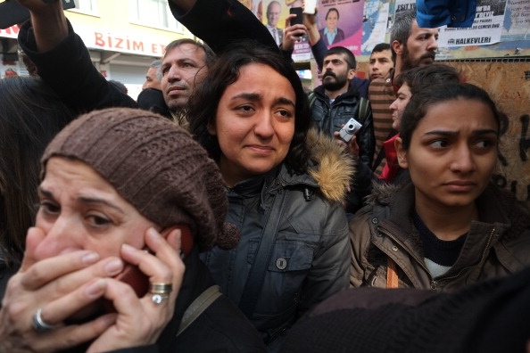Berkin Elvan funeral attracted large crowds to mourn the death of the 15-year-old, who was hit by a teargas shell when he went to buy bread for breakfast during the Gezi Park protests in June 2013 (Photo Credit: Burak Kara/Getty Images).