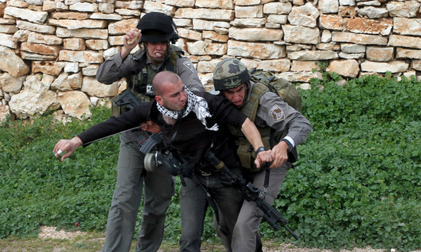 Israeli soldiers and police in the West Bank use everything from live ammunition to tear gas to violently crack down on Palestinians engaged in largely peaceful acts of protest (Photo Credit: Private).