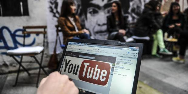 Turkey on March 27,2014 banned video-sharing website YouTube, a week after blocking access to Twitter (Photo Credit: Ozan Kose/AFP/Getty Images).