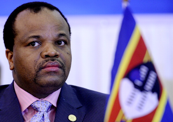 Swaziland's King Mswati III is one of nearly 40 heads of state on the guest list for President Obama's U.S.-Africa Leaders Summit (Photo Credit: Stephane de Sakutkin/AFP/Getty Images).