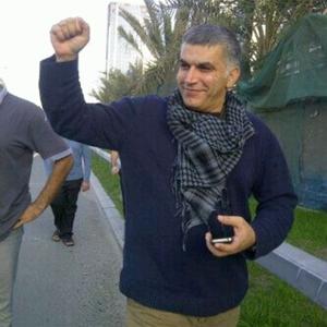 Nabeel Rajab in Bahrain in 2012 (Photo Credit: Private).