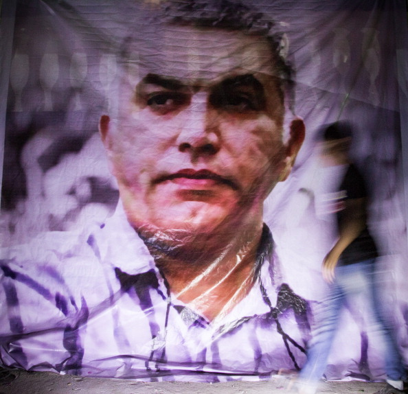 Human rights defender Nabeel Rajab spent two years in prison because of his activity on Twitter (Photo Credit: Hussain Albahrani/Pacific Press/LightRocket via Getty Images).