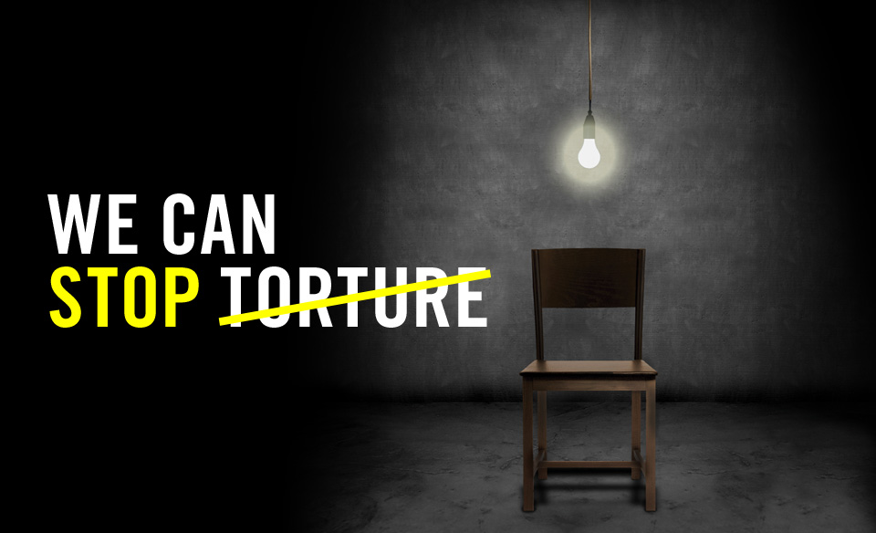 Stop Torture - chair