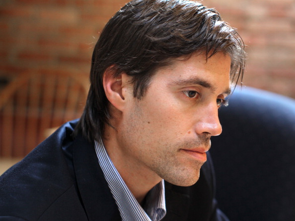 """James Foley once said he reported from the Middle East because, """"We're not close enough to it. And if reporters, if we don't try to get really close to what these guys - men, women, American [soldiers] ... are experiencing, we don't understand the world"""" (Photo Credit: Jonathan Wiggs/The Boston Globe via Getty Images)."""