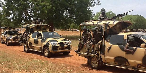 The gruesome video footage gathered by Amnesty International provides fresh evidence of war crimes in north-eastern Nigeria. © EPA