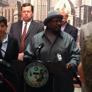 Chicago torture victim Anthony Holmes speaks out against Jon Burge and torture.