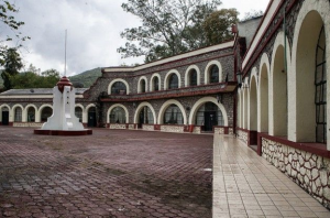 Raúl Isidro Burgos Rural Teacher Training College  in the town of Ayotzinapa Credit: Pepe Jiménez/IPS