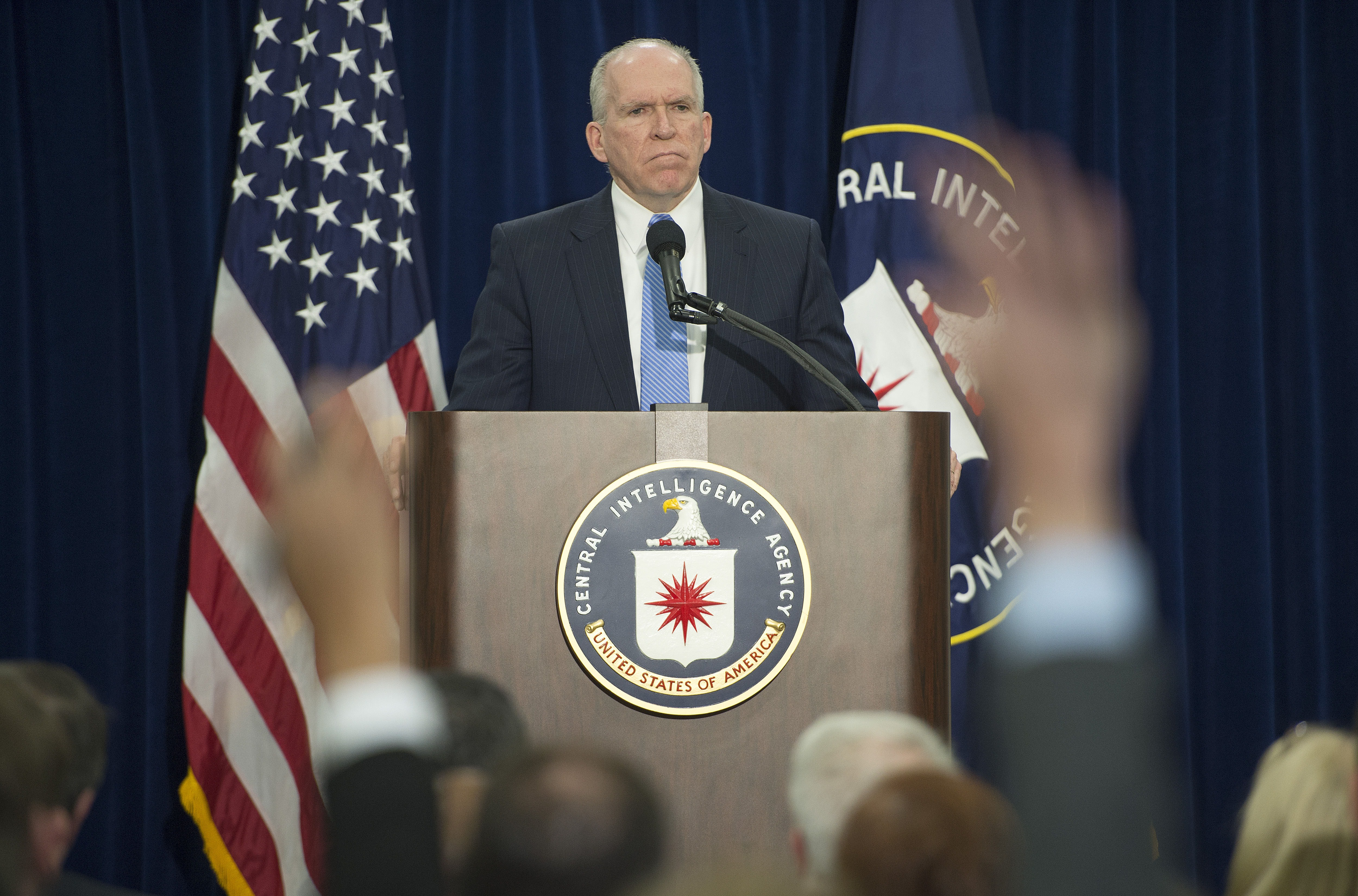 Director of Central Intelligence Agency John Brennan, December 11, 2014. (JIM WATSON/AFP/Getty Images)