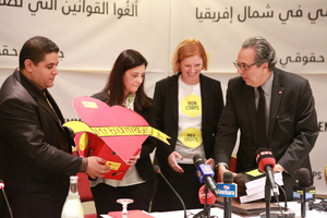 Photos from Tunisia: Maghreb petition handover event