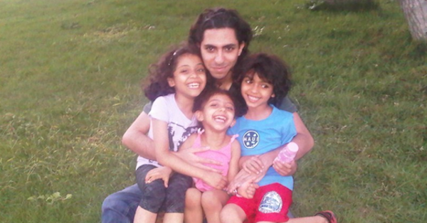 Raif Badawi was sentenced to 10 years in jail and 1,000 lashes after starting a website for social and political debate.