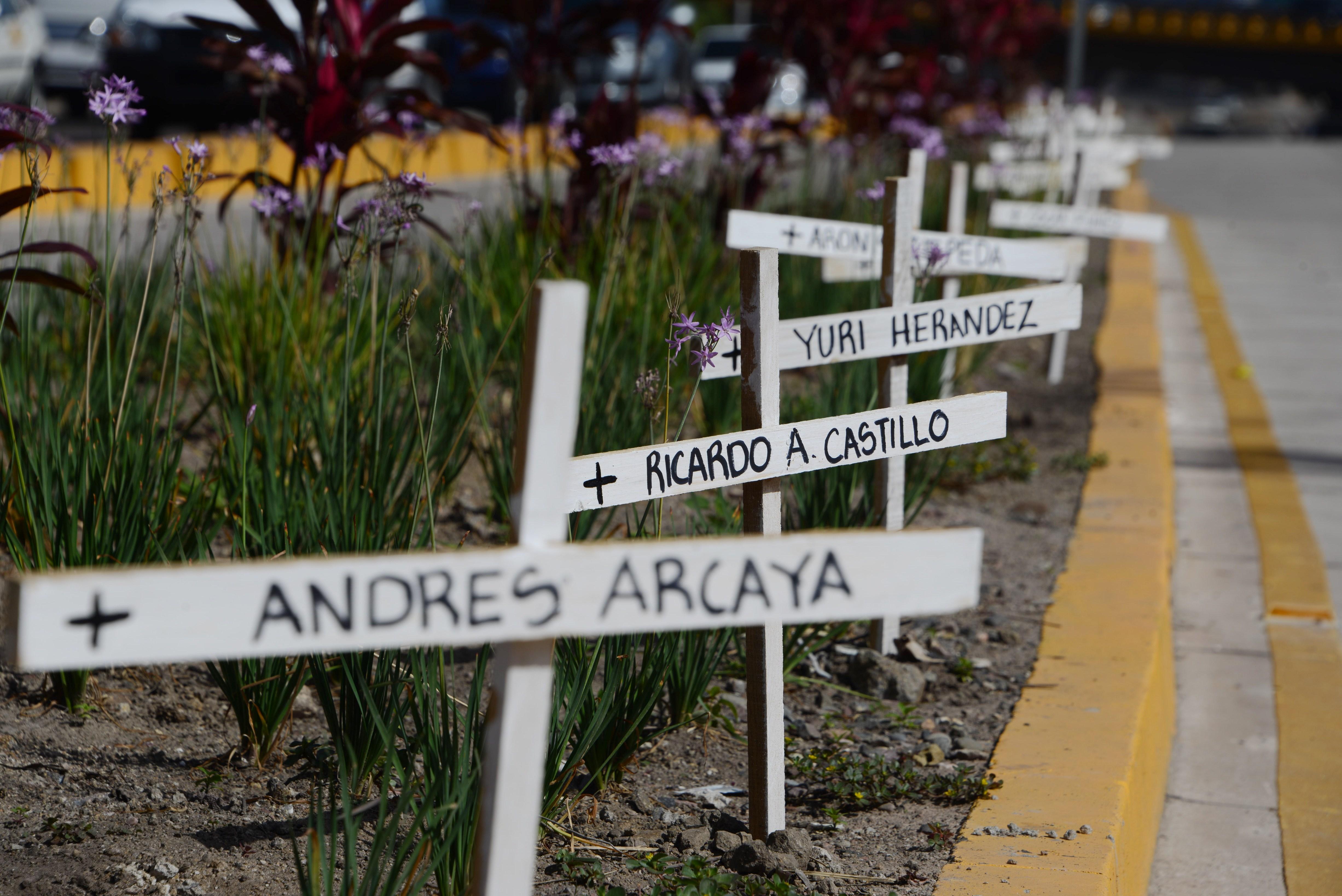 HONDURAS-VIOLENCE-CRIME-VICTIMS