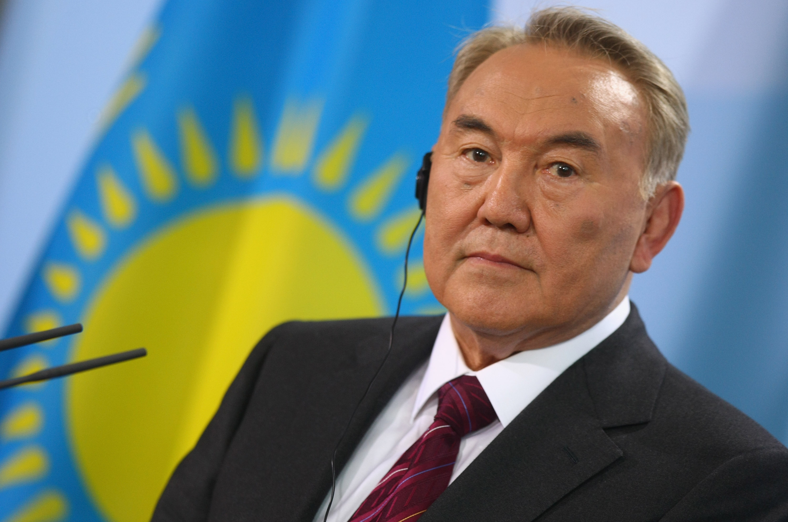 Kazakh President Nursultan Nazarbayev  (Sean Gallup/Getty Images))