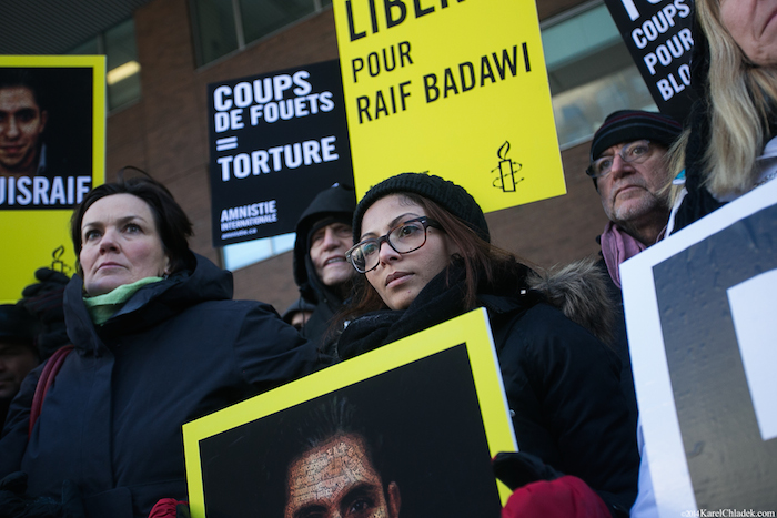 Ensaf Haidar, wife of imprisoned blogger Raif Badawi