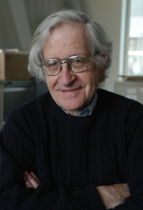 Professor Noam Chomsky (photo: Donna Coveney)