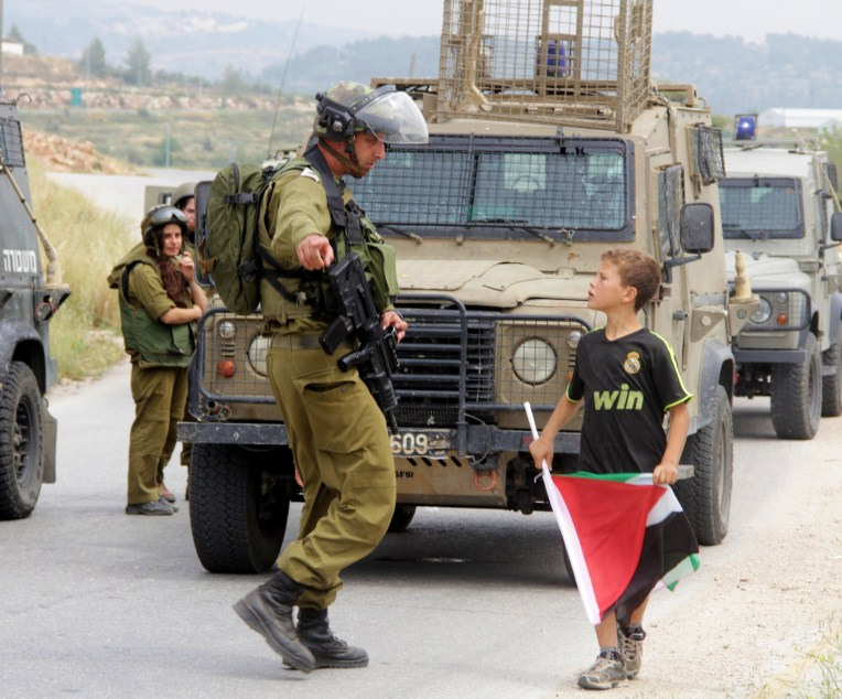 Nabi Saleh demonstrations.