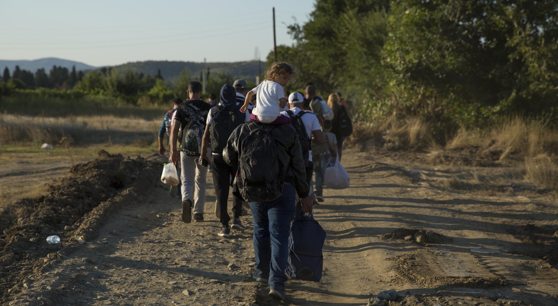 Refugees - Macedonia