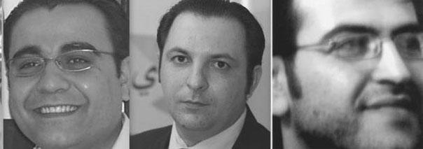 Abd al-Rahman Hamada, Hussein Gharir, Mazen Darwish, Hani al-Zitani and Mansour al-Omari