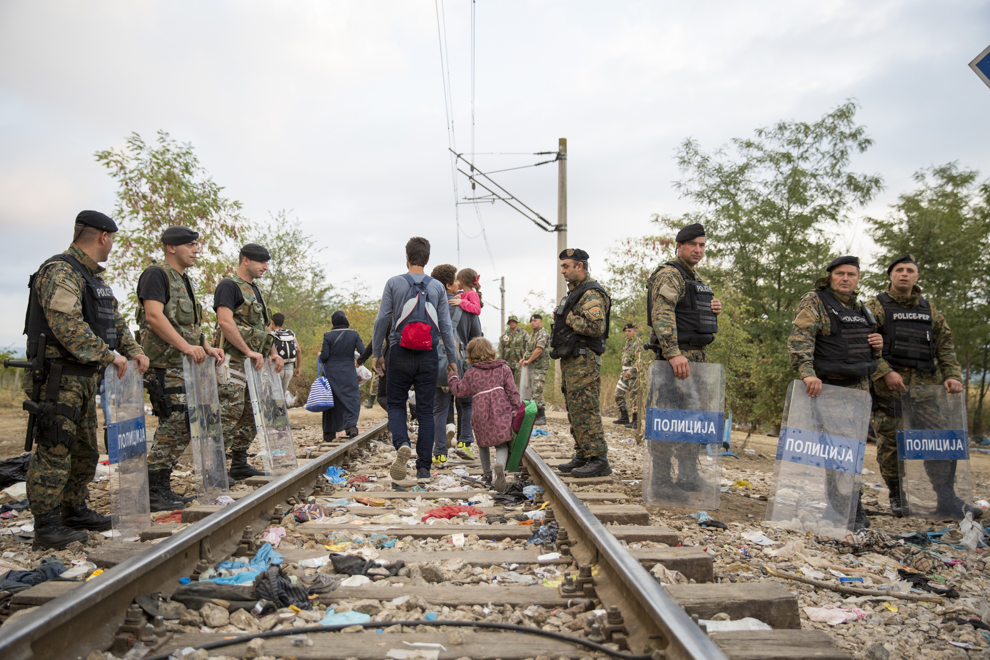 Refugees and migrants - Greece/Macedonia