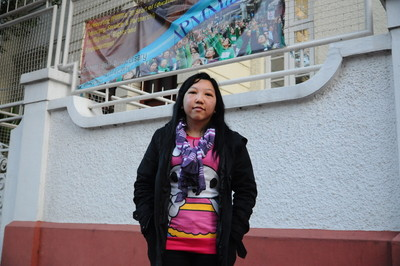 Indonesian domestic worker Erwiana Sulistyaningsih, allegedly abused by Hong Kong employer over eight months, was interviewed by Amnesty in Hong Kong. She flew to Hong Kong in Dec 2014 to testify against her former employer. Court verdict will be given on Feb 10.