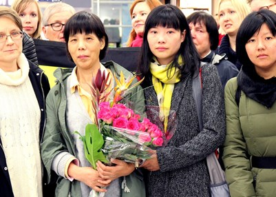 Chen Zhenping (left). © Amnesty International