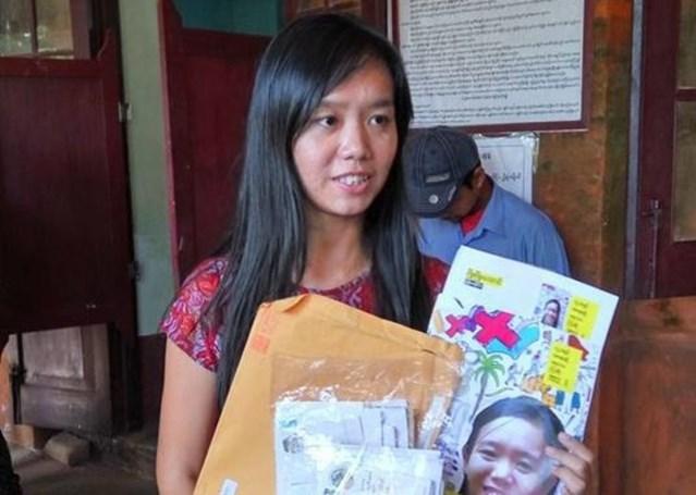Phyoe Phyoe Aung. Credit: Mizzima News