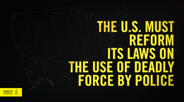 an examination of the issue on the use of deadly force by the police in the united states In the united states, use of deadly force by police has been a high-profile issue since the 1960s, when such incidents were often followed soon afterward by urban riots.