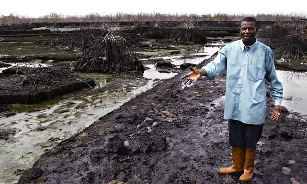 MDG oil spill in Niger delta